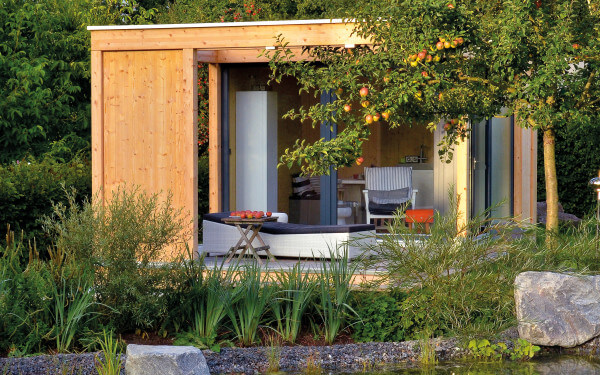 Wellness-Oase oder Homeoffice: Gartenhäuser schaffen neue Freiräume