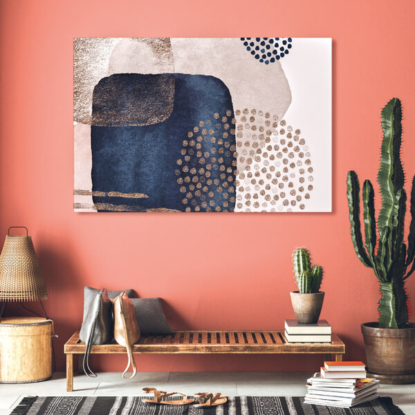 Teppiche und Akustikbilder senken den Geräuschpegel auf dekorative Weise