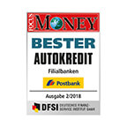 FOCUS MONEY - Bester Autokredit