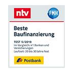 Postbank - Beste Baufinanzierung