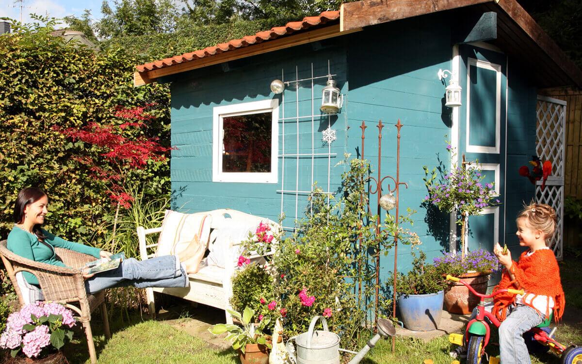 Postbank themenwelten - Projekt Gartenhaus