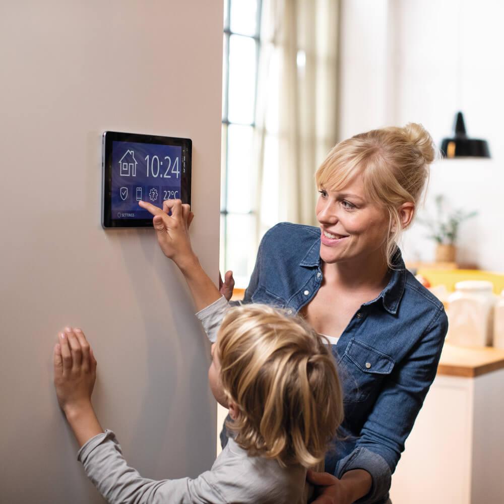 Postbank themenwelten Immobilienwelt mit smart-home-technik