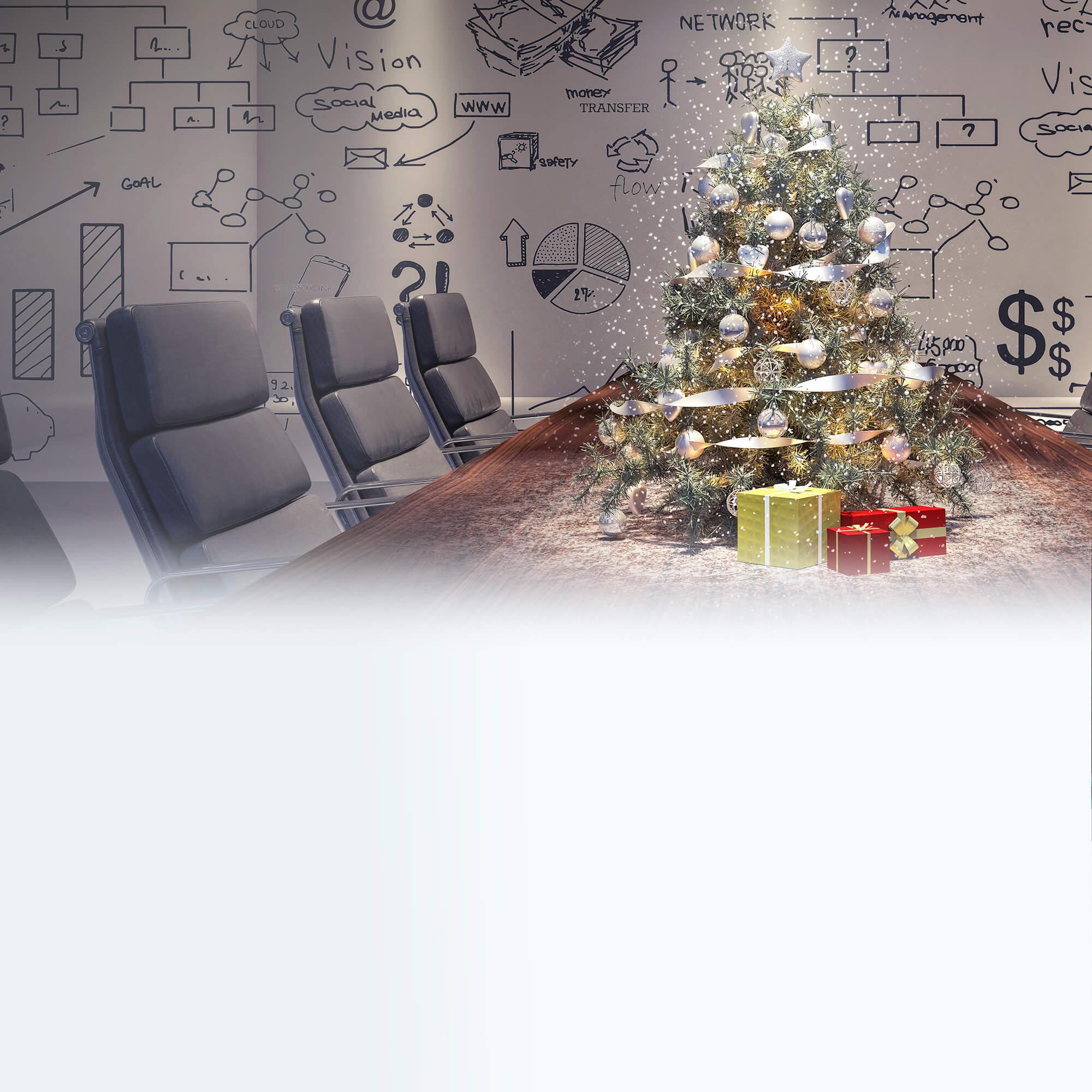 Weihnachtsfeier online planen: Alternativen fürs Homeoffice