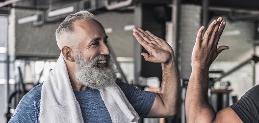 Wie bleibe ich fit im Alter?