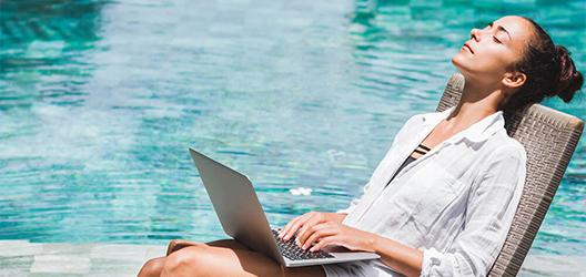 Mobiles Office – arbeiten Sie doch, wo Sie wollen!